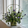 フレッシュフラワークラス ニューサイランの花かご