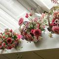 フレッシュフラワークラス プレゼントの花かご02