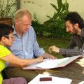 Dr. Şebnem Bahadır, Hening Ziebritzki und Azad Ziya Eren im Gespräch über ein Gedicht von Azad Ziya Eren