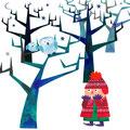 冬の森(オリジナル)