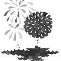 8月 オール読物挿絵(文藝春秋)