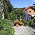Terrasse Ferienwohnung Weigert