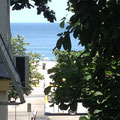 Blick aus den zweiten Schlafzimmerfenster
