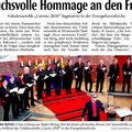 Neue Westfälische, 8. April 2014
