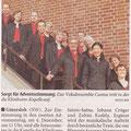 Neue Westfälische, 1. Dezember 2011