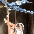 blouson aviateur NOSE ART