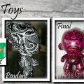 ART Toys . Aérographe+marqueurs+vernis. (modèle unique)