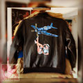 blouson aviateur NOSE ART