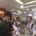 松尾先生の説明は、集合場所(本川越駅)から始まりました。