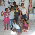 Photos de groupe dans le cadre des ateliers d'Anglais de l'association AMARYLLIS OUTRE-MER