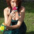 Pascale Farrugia et ses roses Origami