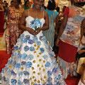Exposition d'Origami, art japonais du pliage, et défilé de mode et coiffure à la Mairie de Basse-Terre, le 24 mai 2013