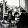 Eric, Cat, John, G.W. Sok - Chalet - Zurich (CH) - 1985