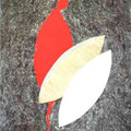 """""""Ersatzlos"""", 1998, 70 x 100 cm, Papier, Wespenpapier"""