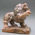 """Löwe"", 2009, H 14 cm, Raku-Keramik"