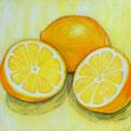 3 limones 100 x 120 cm