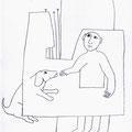 Gemeinsam /Bleistift auf Papier/ DINA4 /