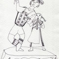 bayrische TrachendrommlerKinder