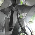 """Aktenordung - Skulptur """"Bürokratinnentempel"""""""