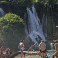 Kravica - ein kühler erfrischender Ort an heißen Sommertagen, wenn das Thermometer auf 40 Grad C und vereinzelt im August auch mehr  klettert