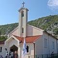 Surmanci - Pilger aus Trient stifteten dieses KIrchlein