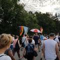 Friedensmarsch am 24. Juni, initiiert von Hubert Liebherr vor 26 Jahren