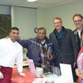Begegnung mit einem Geistlichen aus Indien (Austauschprogramm)