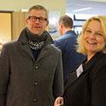 Der ehemalige kommissarische JPRS-Schulleiter Maximilian Philipp mit Frau Hahn (JPRS-Verwaltungsleiterin)