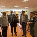 2. von links Nick Szymanski, Klaus Kamm, SL, Johannes Laspe, GF Kreishandwerkersch., Werner Ulowetz, Kreishandwerksm., Fr. Tschakert, Alexander Repp, Innungsoberm.