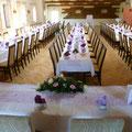 Hochzeit im Saal, ca. 100 Personen
