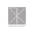 Logo von ROUGH & KOZY, meiner Marke für Produktspielereien – infragrau, gute Gestaltung.