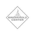 Logo vom Brennholz-Center – infragrau, gute Gestaltung.
