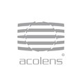 Produkt-Logo von Acolens, einer Software für Bildkorrekturen – infragrau, gute Gestaltung.
