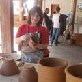 Démonstrations d'artisans d'art à la Maison du Lac et de la Forêt (Sara Grace Wevill) © Office de Tourisme de Sillé le Guillaume
