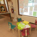 Espace enfants à la Maison du Lac et de la Forêt © Office de Tourisme de Sillé le Guillaume