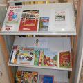 Livres disponibles à la Maison du Lac et de la Forêt © Office de Tourisme de Sillé le Guillaume