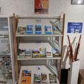 Espace boutique de la Maison du Lac et de la Forêt, livres © Office de Tourisme de Sillé le Guillaume
