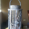 Qty. 25 Tall Wicker Lanterns