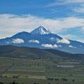 Pico de Orizaba, visto desde Puebla