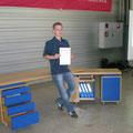 Meisterstück unseres jüngsten Absolventen, Schreinermeister Daniel Kunz