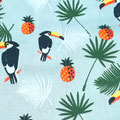 Toucans & ananas
