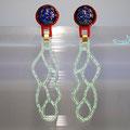 3182971   Clipspaar   Acrylglas (handgesägt + graviert)    Gold 750/-    Clipmechanik aus Silber    780 €