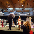 Hochzeitsmesse Lüdenscheid Januar 2011 (Veranstalter VTR-VFDS Halver), Brautkleid BrautmodePracht  Designer Mode, Anzug Anzugkultur, Schirm  Anja H, Foto Anja H.