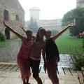 ...Burgbesichtigung trotz Regen...