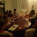 Spieleabend mit den Jugendlichen