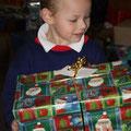 ...und endlich die Geschenke!