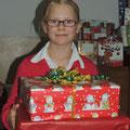 ...Freude über die Geschenke ;-)