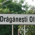 Draganesti-Olt; eine Kleinstadt mit etwa 12.000 Einwohnern