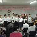 ...viele der Kinder haben Lieder für das Fest vorbereitet...