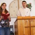 ...Predigtdienste in verschiedenen Gemeinden...